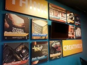 Custom wall artwork - Part Foamcore - Part Pvc plastic - Design by Daniel