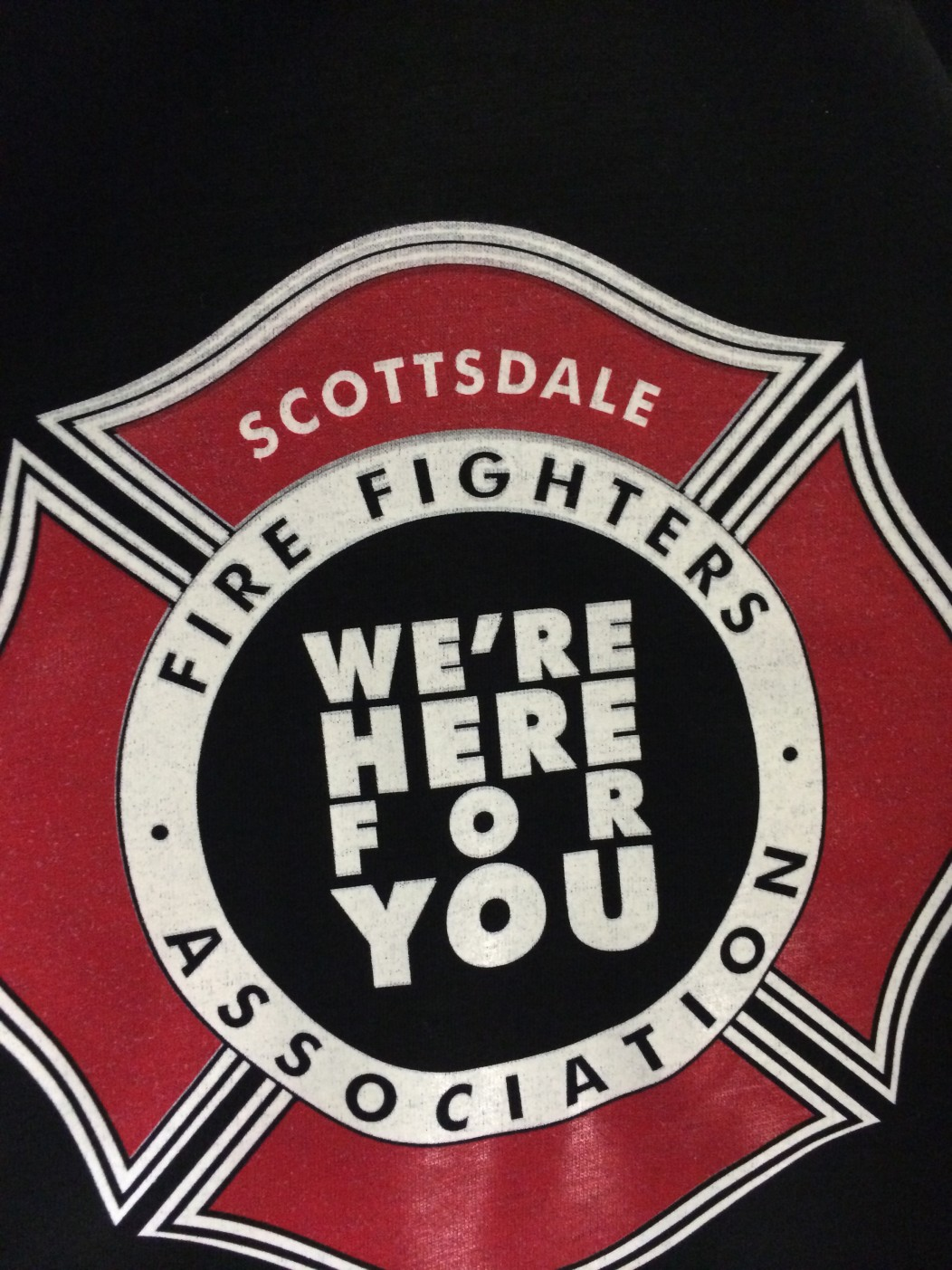 Scottsdale Firefighters Association Direct To Garment Full Color T